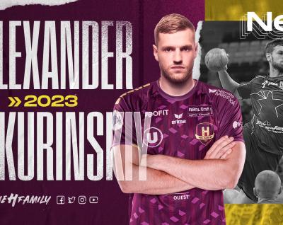"""Alexander Shkurinskiy : """"Récupérer le plus vite possible pour aider le club dans ses objectifs"""""""