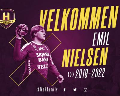 Emil Nielsen rejoint le HBC Nantes !