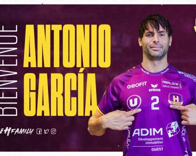 Antonio García Robledo rejoint le HBC Nantes !