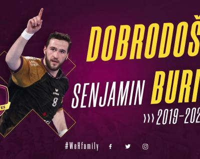 Senjamin Burić rejoint le HBC Nantes
