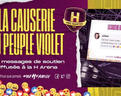 """Le HBC Nantes lance la """"Causerie des supporters"""" !"""