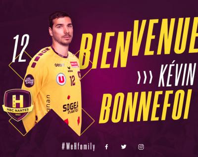 Kévin Bonnefoi rejoint le HBC Nantes !