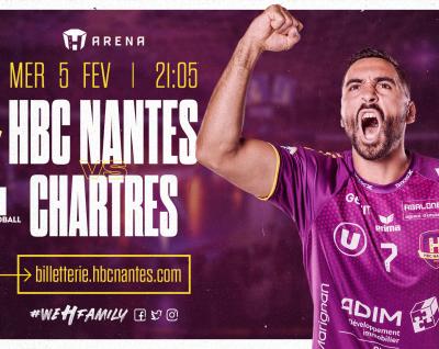 HBC Nantes - Chartres : Infos Pratiques