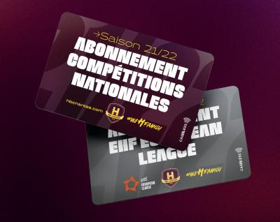 Les cartes d'abonnements 21-22 sont prêtes