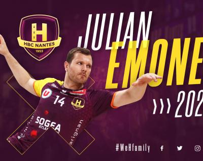 Julian Emonet prolonge jusqu'en 2020
