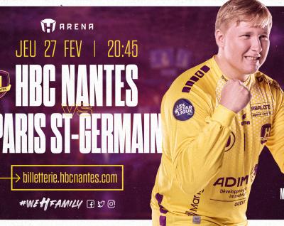 HBC Nantes – PSG Handball : Infos Pratiques