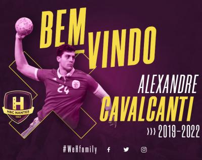 Alexandre Cavalcanti rejoint le HBC Nantes !