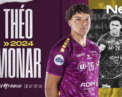 """Théo Monar : """"L'équipe est ambitieuse et mes objectifs coïncident avec ceux du club"""""""