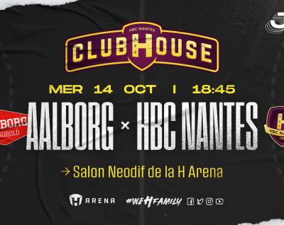 Aalborg - HBC Nantes : Rendez-vous au Club House