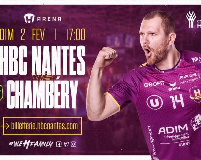 HBC Nantes - Chambéry : Infos Pratiques