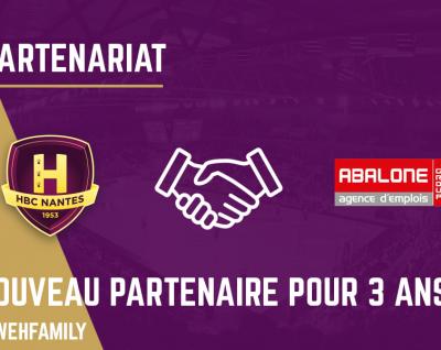 ABALONE, nouveau partenaire du HBC Nantes