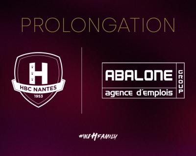 Abalone prolonge son partenariat avec le HBC Nantes