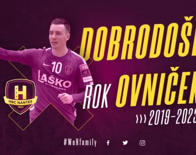 Rok Ovniček rejoint le HBC Nantes !