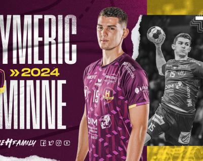 Aymeric Minne prolonge jusqu'en 2024 !