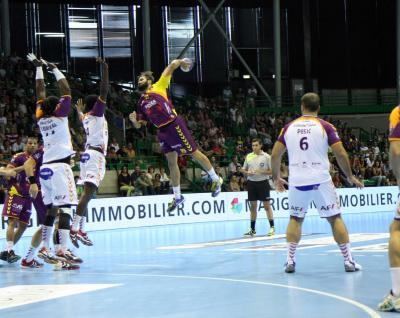 Le HBC Nantes en 1/4 de finale