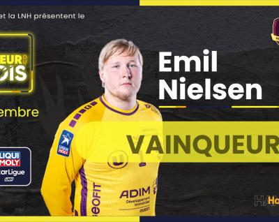 Emil Nielsen joueur du mois de Septembre