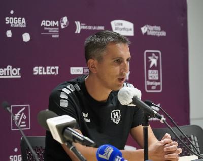 """Grégory Cojean : """"Faire un bon match, un match plein et engagé"""""""