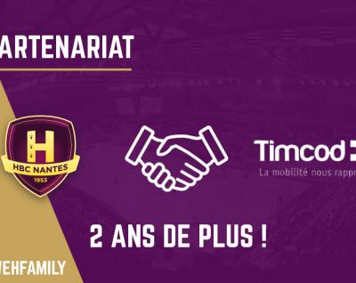 TIMCOD prolonge son partenariat pour 2 ans