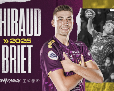 """Thibaud Briet : """"J'ai de la chance de vivre cela avec le HBC Nantes"""""""