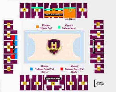 Information Abonnés, billetterie PSG Handball