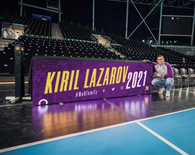 Kiril Lazarov, un homme loyal et heureux à Nantes