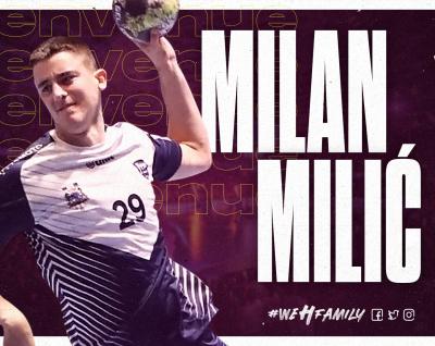 Milan Milić rejoint le HBC Nantes !