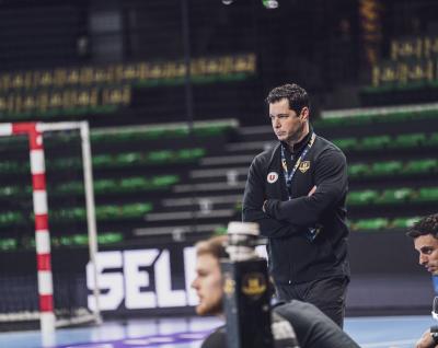 """Alberto Entrerríos : """"Les victoires sont bonnes pour la dynamique. Il faut retrouver l'habitude de gagner"""""""