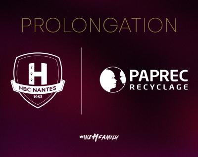 Paprec prolonge son partenariat avec le HBC Nantes