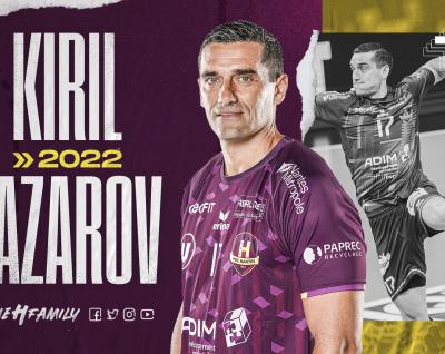 """Kiril Lazarov : """"Je me sens bien ici, connecté avec le club, l'équipe et les supporters"""""""