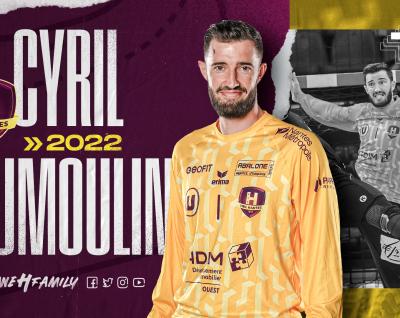 Cyril Dumoulin prolonge jusqu'en 2022