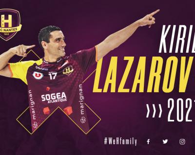 Kiril Lazarov prolonge jusqu'en juin 2021