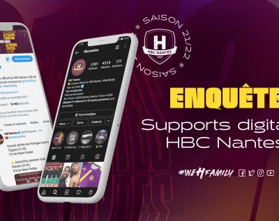 Enquête HBC Nantes : supports digitaux