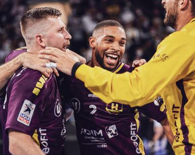 """Dans une H Arena en ébullition, le """"H"""" s'impose face à Montpellier (34-28)"""